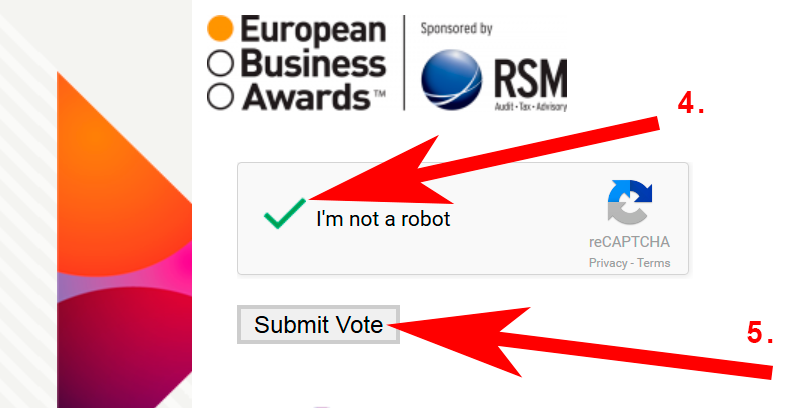 glosowanie nie jestem robotem